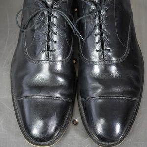 Allen Edmond park avenue shoes 13 B cap toe